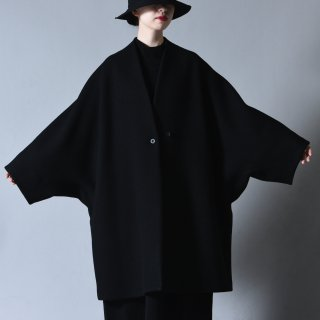 Ka na ta xaori coat wool black