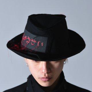 Yohji Yamamoto POUR HOMME 「こわれもの」ワッペンホースシューハット