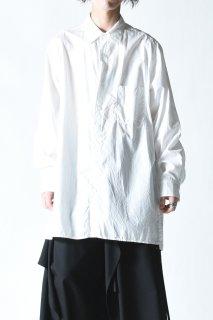 Yohji Yamamoto POUR HOMME 定番BIG環縫いシャツ