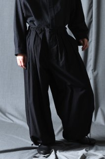 Yohji Yamamoto POUR HOMME  コットンツイルシンバルーンパンツ