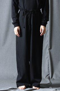Yohji Yamamoto POUR HOMME  シワギャバクラシックビッグ紐パンツ
