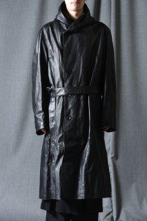 Yohji Yamamoto POUR HOMME × BACKLASH トルコステアレザービッグフードコート