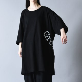 Ground Y  GYグラフィックジャンボカットソー black