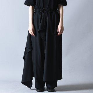 Ground Y ポリウールギャバジン3WAYスカートパンツ