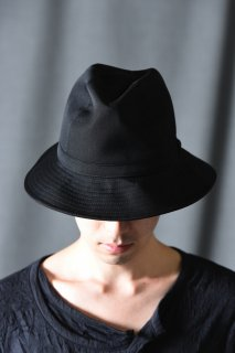 Yohji Yamamoto POUR HOMME シワギャバフェドラハット