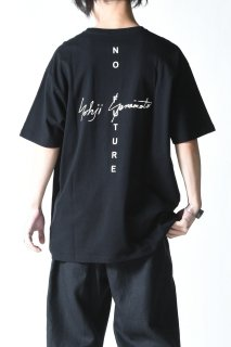 Yohji Yamamoto × NEW ERA TEE YY SIGN NO FUTURE