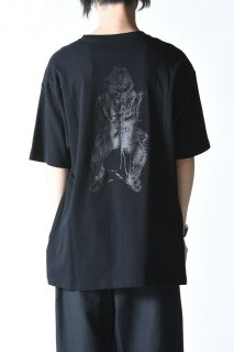 Yohji Yamamoto × NEW ERA TEE YY SIGN artwork
