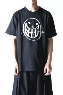 Yohji Yamamoto × NEW ERA TEE YY SIGN smile