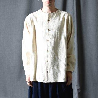 Ka na ta classic hemp shirt kinari