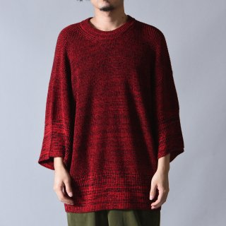 Ka na ta always summer knit 半袖 red