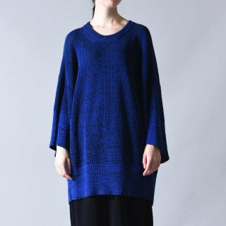 Ka na ta always summer knit 半袖 blue