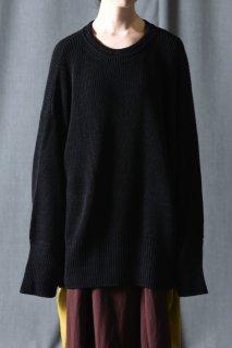 Ka na ta always summer knit 長袖 black