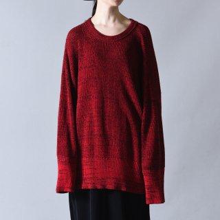 Ka na ta always summer knit 長袖 red