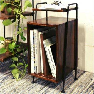 [送料無料] 木製 サイドテーブル(シーシャムウッド)