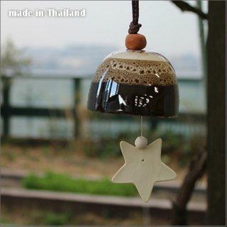 送料無料 陶器の風鈴