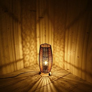 [LED対応可] BALIスタンドランプ バンブー&リディー