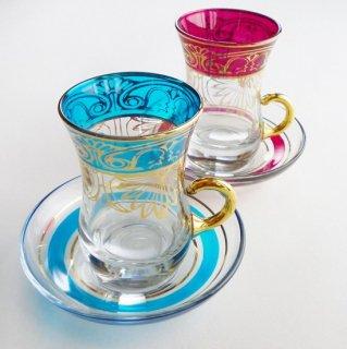 トルコ製 チャイグラス