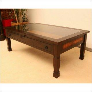 [送料無料] 木製コレクションテーブル