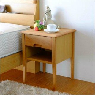[送料無料]アルダー無垢材 サイドテーブル 幅40cm