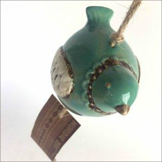 陶器製 風鈴 トリ