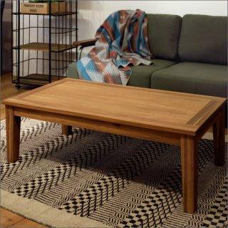 [送料無料]アカシア 木製 センターテーブル 幅110cm