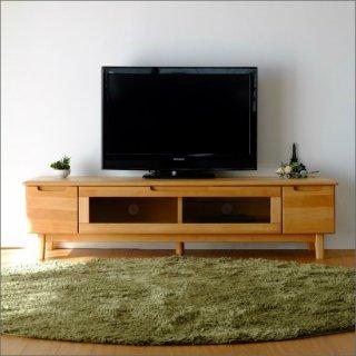 【送料無料】 アルダー 無垢材 テレビボード W150