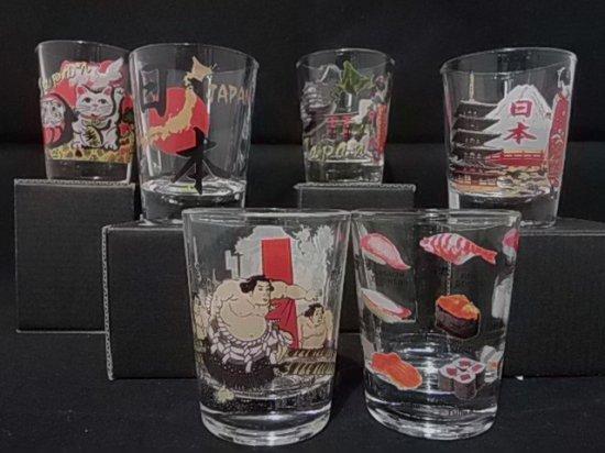 ガラスショットグラス 【全6種】