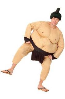 相撲力士着ぐるみ衣装