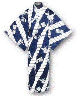 相撲柄浴衣