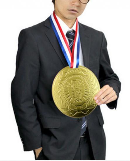 金メダル ユーモアカード