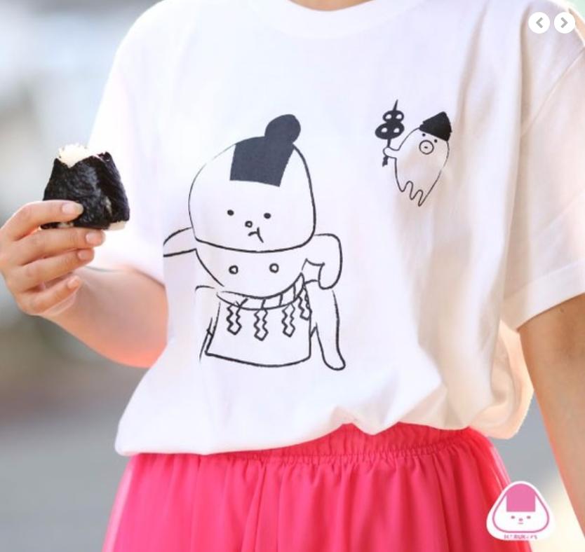 どすこいTシャツ(白・グレー)