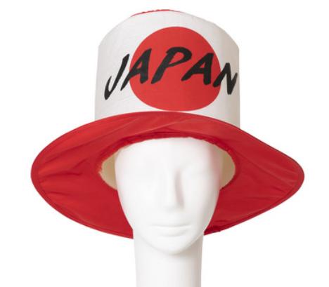 応援JAPANシルクハット