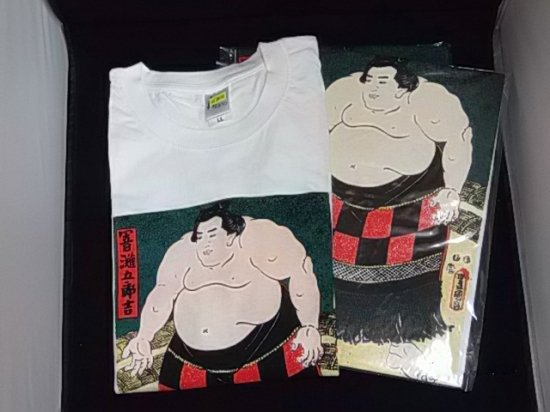 Tシャツ 【浮世絵相撲】
