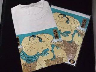 白Tシャツ 【相撲取り組み】