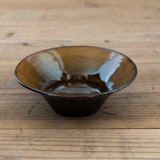 中村桜士 飴黒釉小鉢