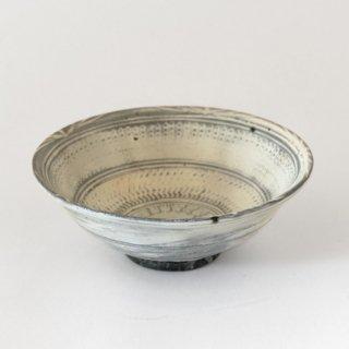 増田勉 五寸印花三島鉢