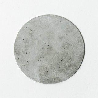PULL+PUSH PRODUCTS.(プルプッシュプロダクツ)モルタル丸型コースター(ナチュラル)