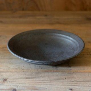 遠藤素子 鉄釉七寸鉢