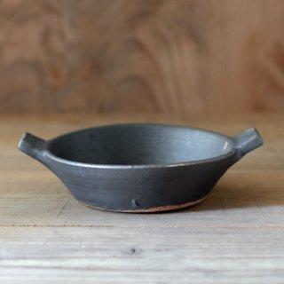 遠藤素子 鉄釉グラタン皿