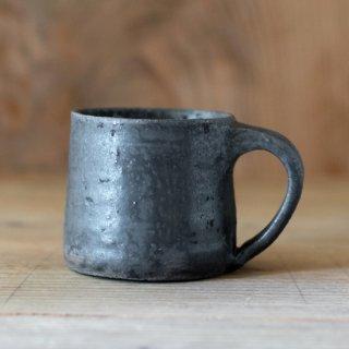 遠藤素子 鉄釉マグカップ