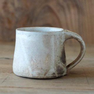 遠藤素子 粉引マグカップ
