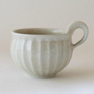新井真之 白スープカップ