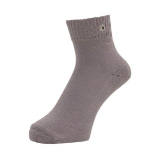 【WHIMSY】 VERSE HEADS SOCKS GREY SIZE : 16-21cm