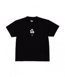 DANERCPH Reflective Flower Tee Black
