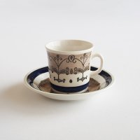 Gefle Aurora コーヒーカップ&ソーサー