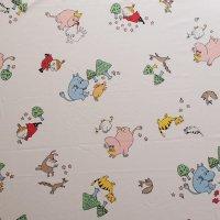 Moomin/ムーミン ヴィンテージファブリック/アイボリー 144×61