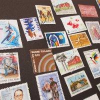 フィンランドの古切手 C/いろいろな切手52枚