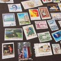 フィンランドの古切手 D/いろいろな切手52枚