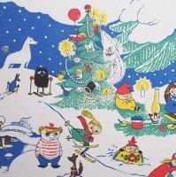 Moomin/ムーミン ファブリック/クリスマス 135×78