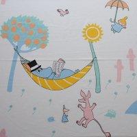Moomin/ムーミン ヴィンテージファブリック/アイボリー150×61/切売り
